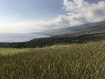Belle vue de Maui& x27 ; montagne de s Images libres de droits