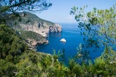belle vue de mer Photos libres de droits