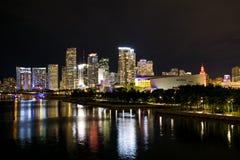 Belle vue de Miami du centre II Photographie stock libre de droits