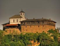 Belle vue de monastère de Glozhene Photo libre de droits