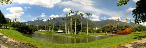 Belle vue de montagne Caracas Venezuela Warairarepano d'Avila photographie stock