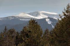 Belle vue de montagne de Rila, Bulgarie, l'Europe image stock