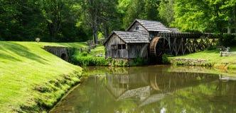 Belle vue de moulin de Mabry Image libre de droits