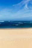 belle vue de plage Photos libres de droits