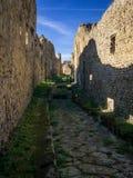 Belle vue de Pompeii Italie photos stock