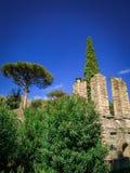 Belle vue de Pompeii Italie images stock