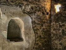 Belle vue de Pompeii Italie photo stock