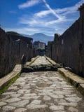 Belle vue de Pompeii Italie photos libres de droits