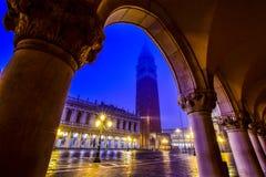Belle vue de San Marco Photos libres de droits