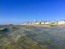 Belle vue de station de vacances de Brighton Pier photographie stock libre de droits