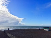 Belle vue de station de vacances de Brighton Pier photos stock