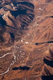 Belle vue des aéronefs Images stock