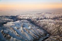 Belle vue des aéronefs Image libre de droits