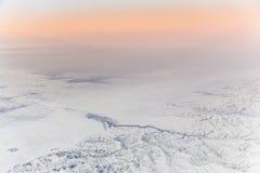 Belle vue des aéronefs Images libres de droits