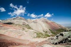 Belle vue des montagnes de Pamir Images libres de droits