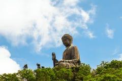 Belle vue du Bouddha géant photos stock