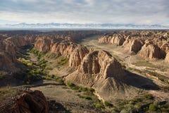 Belle vue du canyon image stock