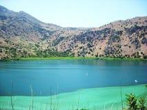 Belle vue du lac Photo libre de droits