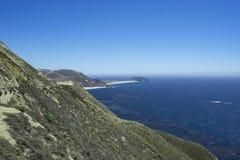 Belle vue le long de la route 1, la Californie Images libres de droits