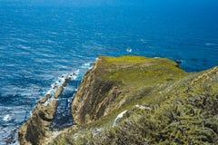 Belle vue le long de la route 1, la Californie Image stock
