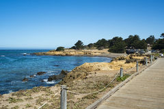 Belle vue le long de la route 1, la Californie Photographie stock