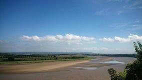 Belle vue panoramique waterside photo libre de droits