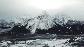 Belle vue près de Lermoos, Autriche clips vidéos