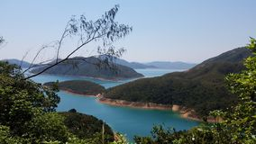 Belle vue, Sai Kung, Hong Kong image libre de droits