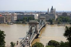 Belle vue sur Budapest Image stock