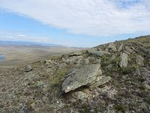 Belle vue sur l'île d'Olkhon Images stock