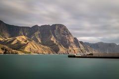 Belle vue sur la côte ouest de mamie Canaria Photographie stock