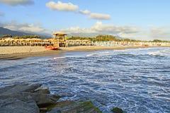 Belle vue sur la côte Image stock