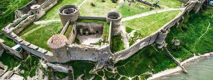 Belle vue sur la forteresse d'Akkerman dans le Belgorod-Dniestr, Ukraine Images libres de droits