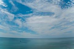 Belle vue sur la Mer Noire de la montagne Photographie stock libre de droits