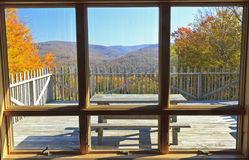 Belleayre Mountain Window View Royalty Free Stock Photos