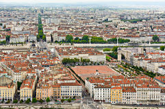 Bellecour place, Lyon, France Royalty Free Stock Images