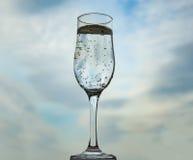 Bellen in een glas Stock Fotografie
