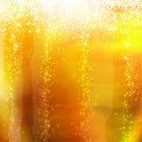 Bellen in een glas champagne Royalty-vrije Stock Foto