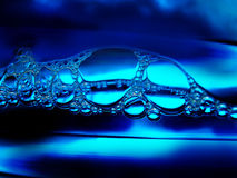 Bellen in het water Royalty-vrije Stock Afbeeldingen