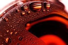 Bellen op glas Royalty-vrije Stock Fotografie