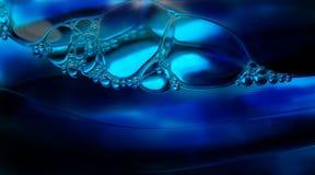 Bellen in water Royalty-vrije Stock Afbeelding