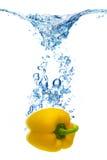 Bellen in water Stock Afbeelding