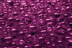 Bellenachtergrond van plastic roze kleur stock afbeelding