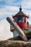 Bellende brand op Hiddensee royalty-vrije stock fotografie