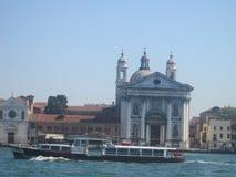 Belles églises de Venise en été Photos stock