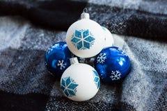Belles boules de Noël Photographie stock libre de droits