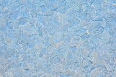 Belles configurations sur une glace figée Photo libre de droits