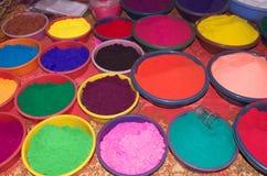 Belles couleurs-IV de célébration de Diwali Images libres de droits
