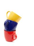 Belles cuvettes de couleur Photographie stock libre de droits