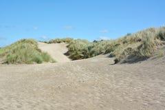 Belles dunes de sable images libres de droits